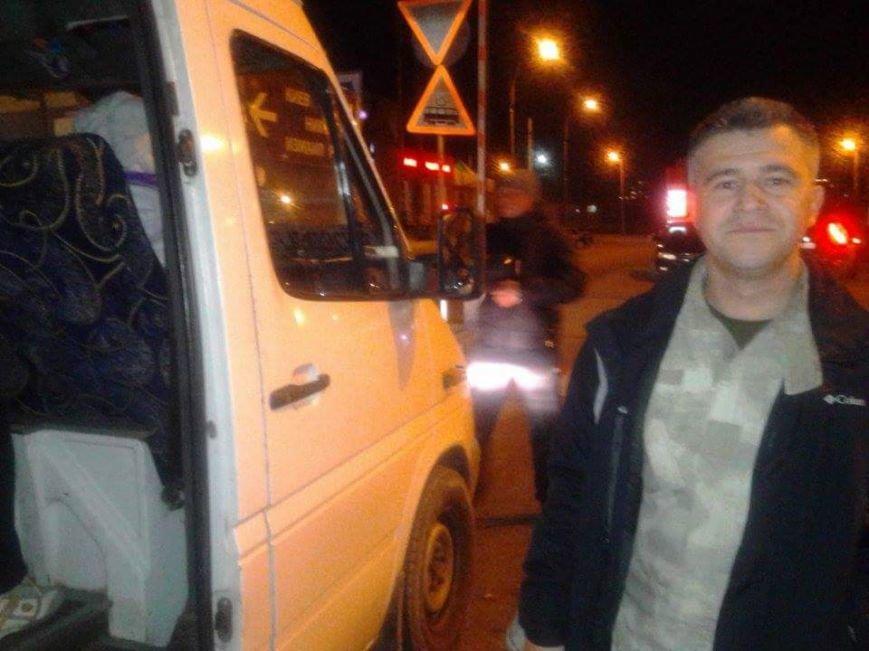 На одесском автовокзале маршрутчик отказывался посадить в автобус киборга (ФОТО) (фото) - фото 1