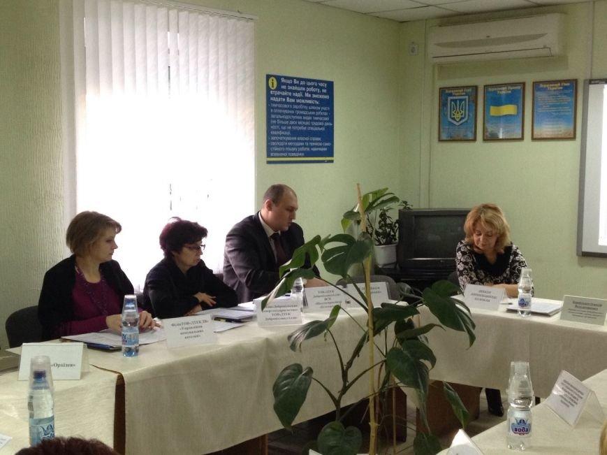 Работодатели и первый заместитель мэра Доброполья собрались за Круглым столом (фото) - фото 1