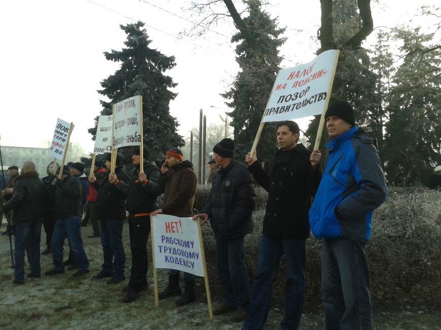 Шахтеры на митинге требовали отставки правительства (ФОТО), фото-2