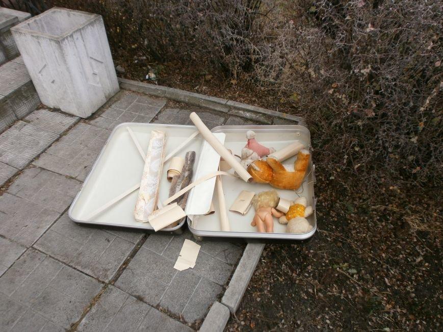 На левобережье Днепродзержинска был обнаружен подозрительный чемодан (фото) - фото 3