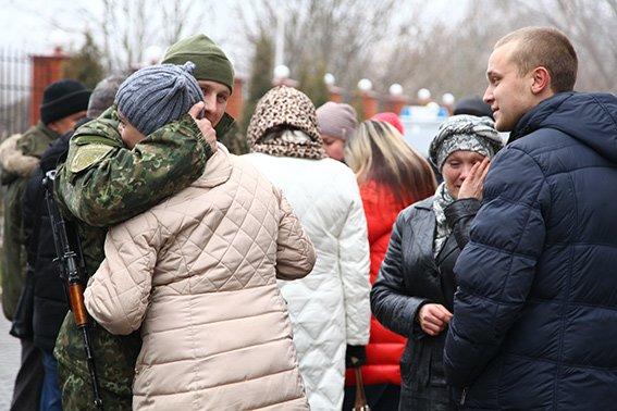 30 бійців хмельницької спецроти «Богдан» відправились в АТО (Фото) (фото) - фото 3
