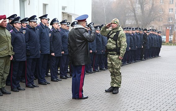 30 бійців хмельницької спецроти «Богдан» відправились в АТО (Фото) (фото) - фото 1