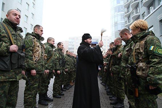 30 бійців хмельницької спецроти «Богдан» відправились в АТО (Фото) (фото) - фото 2