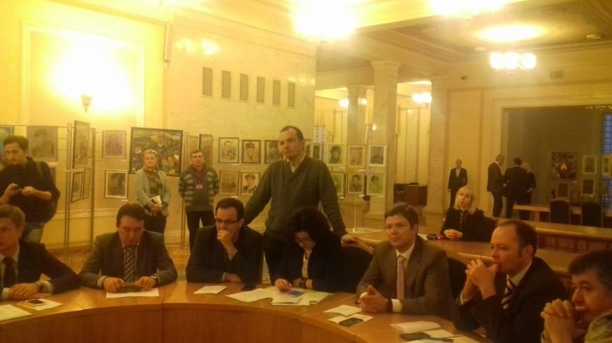 Заседание  комитета Верховной Рады: Юрий Вилкул незаконно объявлен городским головой Кривого Рога (ФОТО), фото-5
