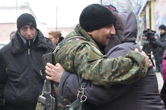 В Полтаві відбулась ротація правоохоронців, які вирушили в зону АТО (фото) - фото 1