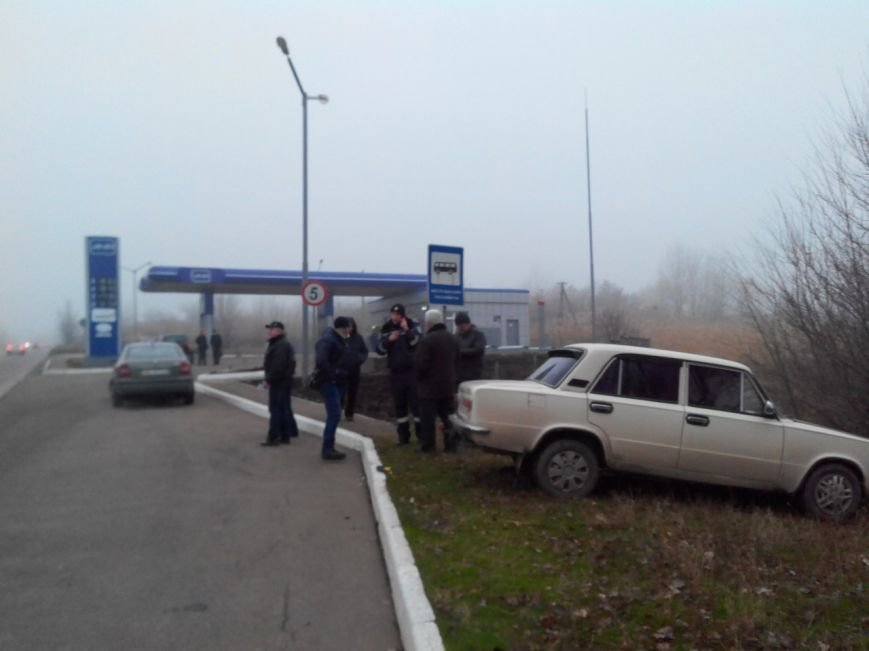 В результате ДТП в Кривом Роге автомобиль