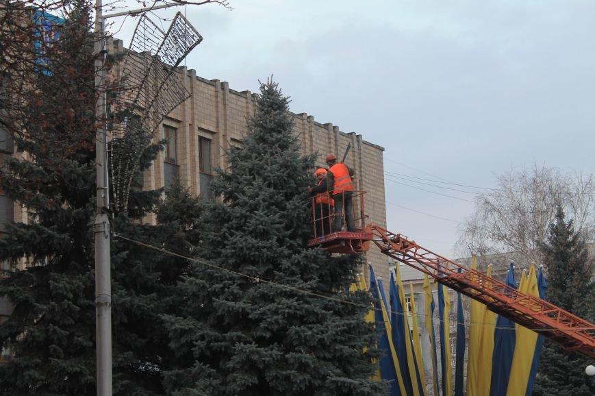 В Артемовске-Бахмуте начали подготовку к Новому Году (ФОТОФАКТ), фото-2