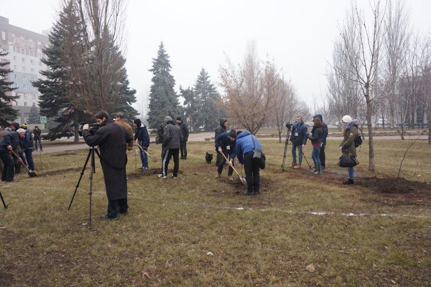 В сквере имени Кузьмы Скрябина высадили первые саженцы (ФОТО) (фото) - фото 2