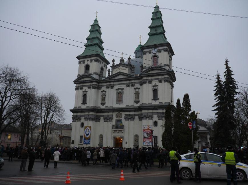 У Тернополі Патріарх УГКЦ освятив дошку, встановлену на честь Митрополита Шептицького (ФОТО) (фото) - фото 1