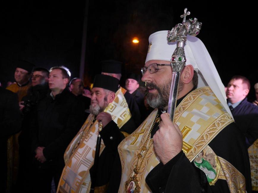 У Тернополі Патріарх УГКЦ освятив дошку, встановлену на честь Митрополита Шептицького (ФОТО) (фото) - фото 3