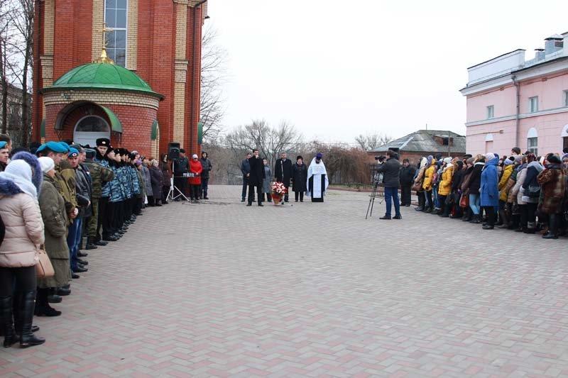 Жители города вспомнили земляков, погибших в Чечне (фото) - фото 1