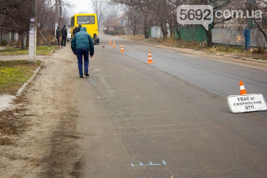 В Днепродзержинске маршрутка сбила насмерть пешехода (фото) - фото 3