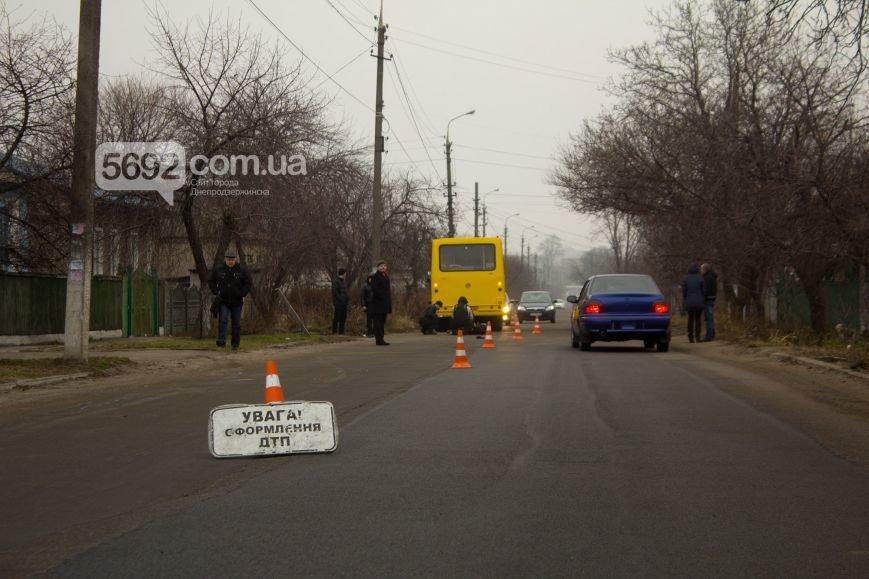 В Днепродзержинске маршрутка сбила насмерть пешехода (фото) - фото 4