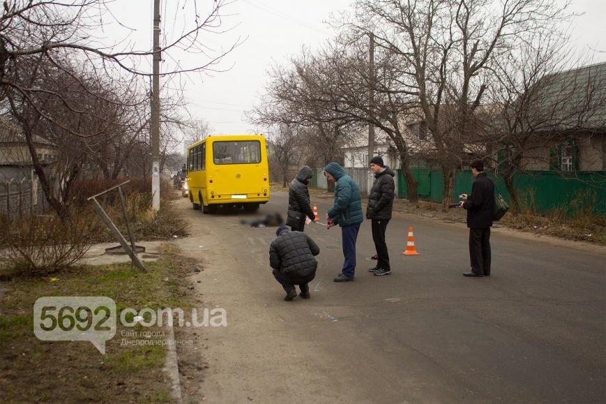 В Днепродзержинске маршрутка сбила насмерть пешехода (фото) - фото 5