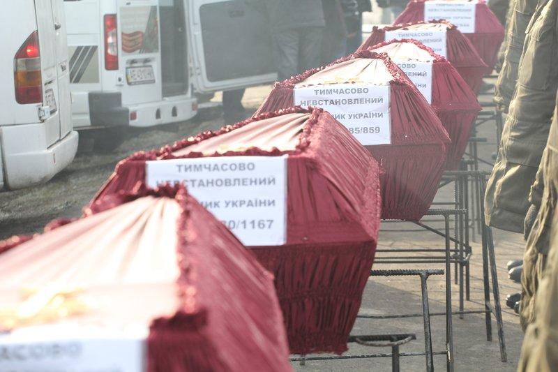 На Днепропетровщине провели в последний путь еще 9 неизвестных солдат (ФОТО) (фото) - фото 5