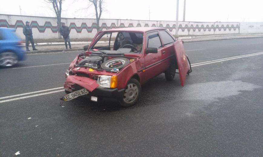 ДТП в Днепропетровске: столкнулись «Таврия» и Honda Civic (ФОТО, ВИДЕО), фото-3
