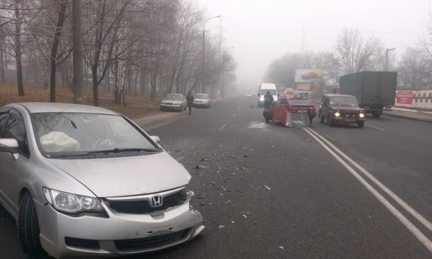 ДТП в Днепропетровске: столкнулись «Таврия» и Honda Civic (ФОТО, ВИДЕО), фото-6