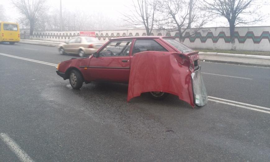 ДТП в Днепропетровске: столкнулись «Таврия» и Honda Civic (ФОТО, ВИДЕО), фото-2