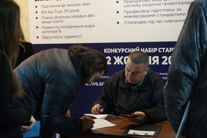 Две трети кандидатов в новую полицию Кривого Рога не смогли сдать тесты  (ФОТО) (фото) - фото 1