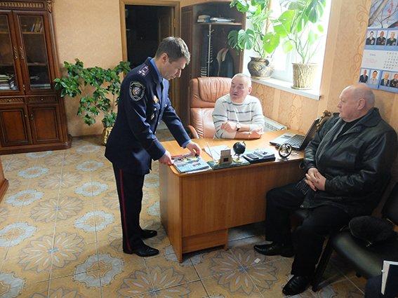 В Кривом Роге руководители полиции встретились с ветеранами органов внутренних дел (фото) - фото 1