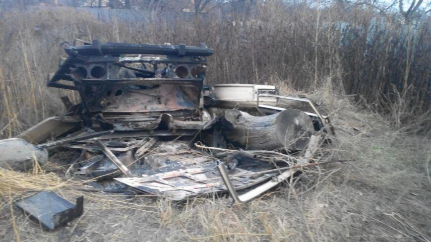 19-летний угонщик распилил ВАЗ, чтобы продать его на запчасти и на металлолом (ФОТО), фото-1