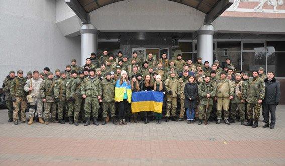 Як полтавських правоохоронців зі Сходу зустрічали (ФОТО) (фото) - фото 5