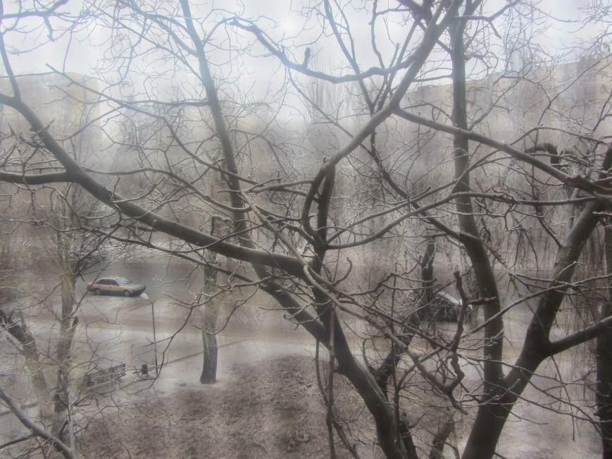 Днепропетровск припорошило снегом (ФОТО), фото-6