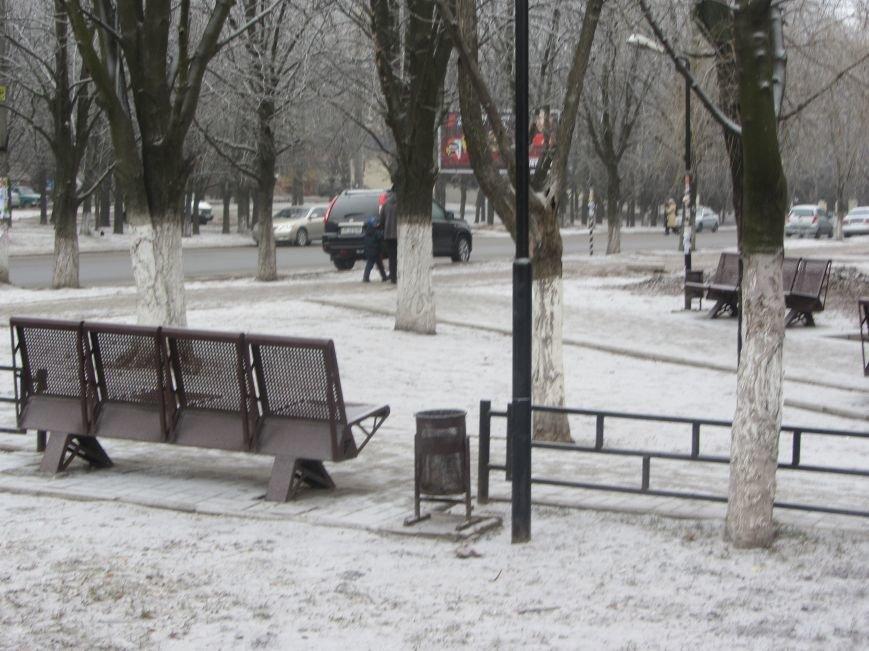 Днепропетровск припорошило снегом (ФОТО), фото-5