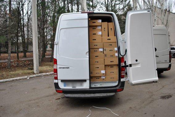 Полицейские не пропустили из Мариуполя в Донецк  два минибуса с мясом (ФОТО) (фото) - фото 1