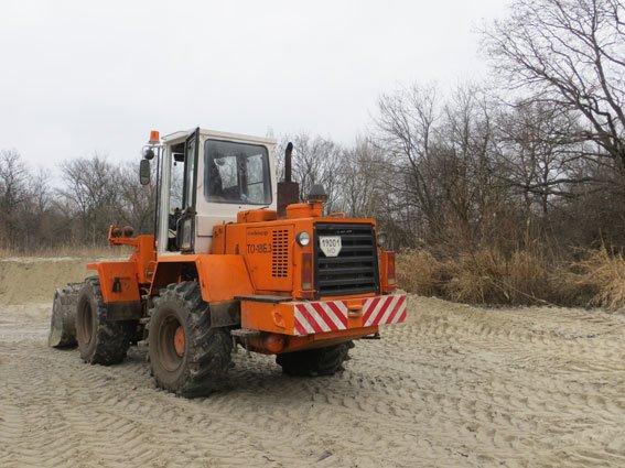 На Полтавщині зафіксували факт незаконного видобутку піску (ФОТО) (фото) - фото 1