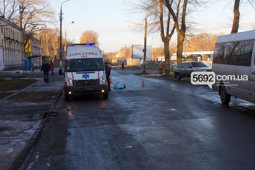 В Днепродзержинске на проспекте Аношкина в ДТП погиб пешеход, фото-2