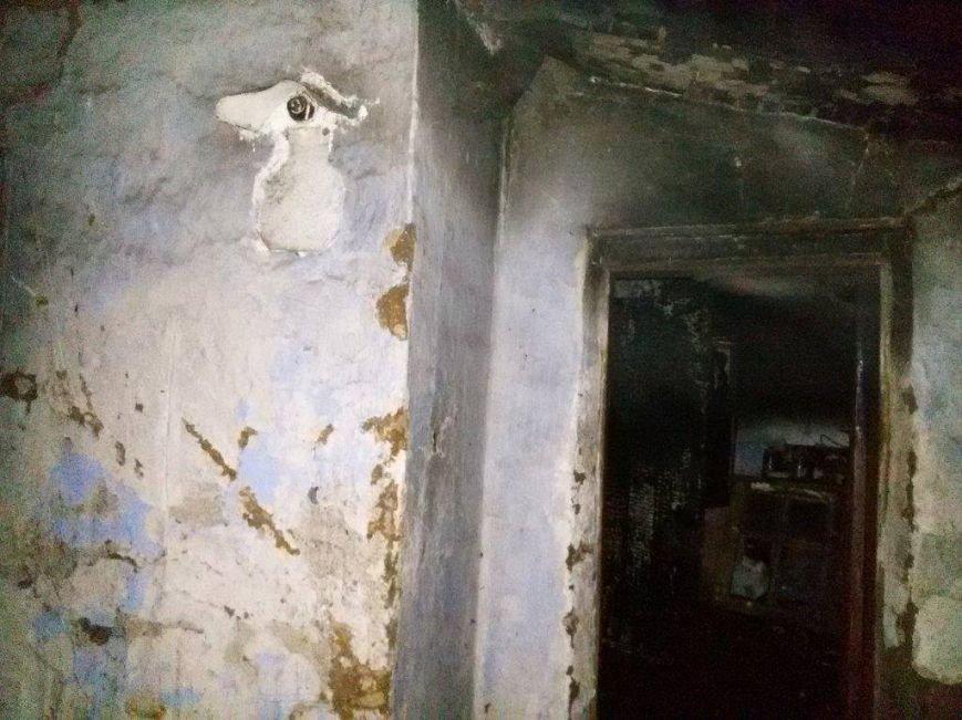 В доме по улице Грабовского  от огня погибло два мариупольчанина (ФОТО), фото-1