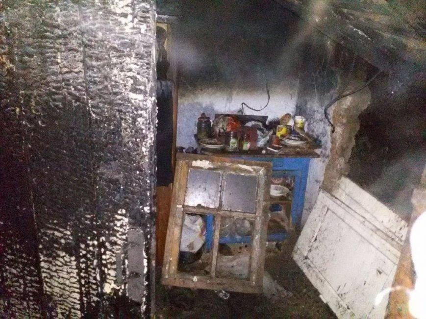 В доме по улице Грабовского  от огня погибло два мариупольчанина (ФОТО), фото-2