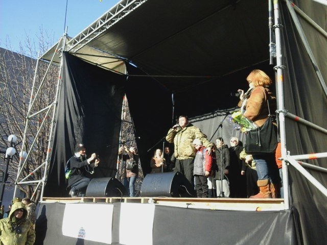 В Кривом Роге горожане снова собрались на народное вече (ФОТО, ОБНОВЛЯЕТСЯ) (фото) - фото 1