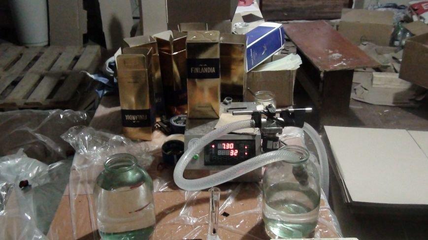 9368cc8a975b9e7657f8209b6b7459fd Слишком элитно: в Одессе разливали элитную контрафактную водку