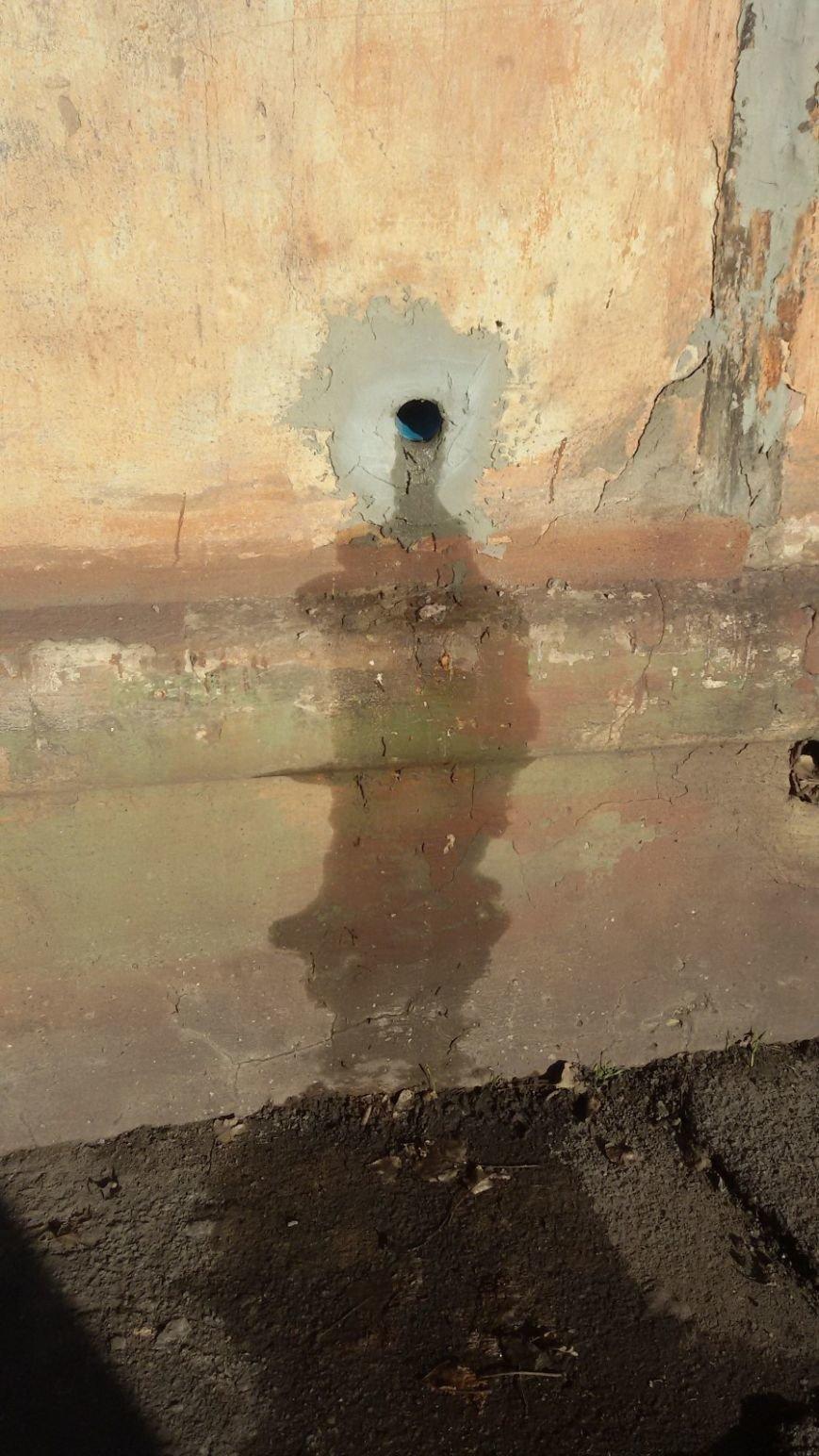 В Кривом Роге целый двор тонет в нечистотах (ФОТО, ВИДЕО), фото-2