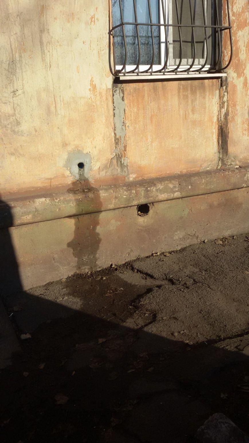 В Кривом Роге целый двор тонет в нечистотах (ФОТО, ВИДЕО), фото-3