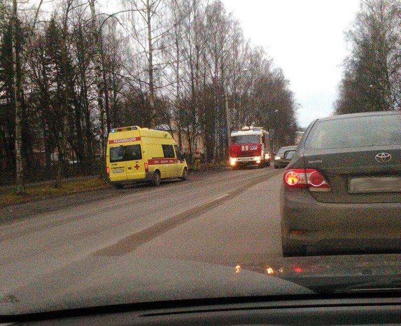 Тройное ДТП на Московском проспекте: