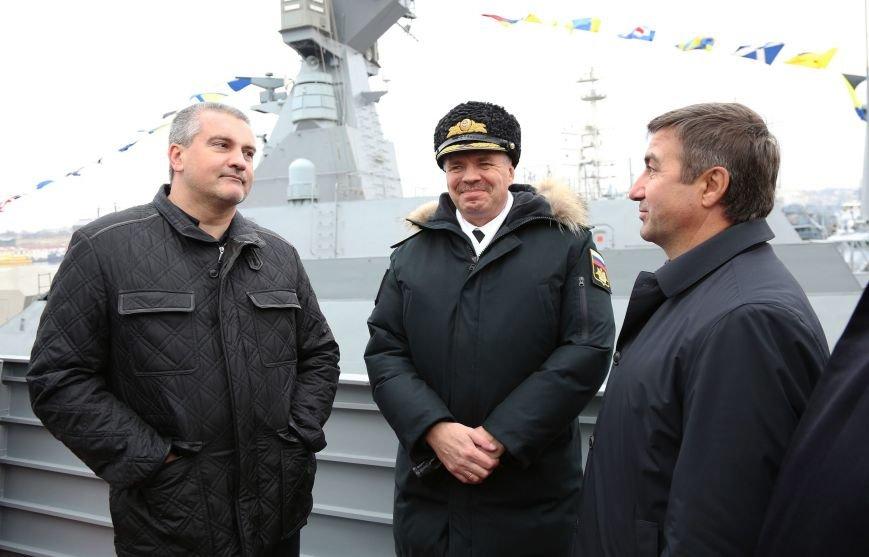 В Севастополе состоялось торжество в честь ввода кораблей «Зеленый Дол» и «Серпухов» в состав Черноморского флота (ФОТО) (фото) - фото 6