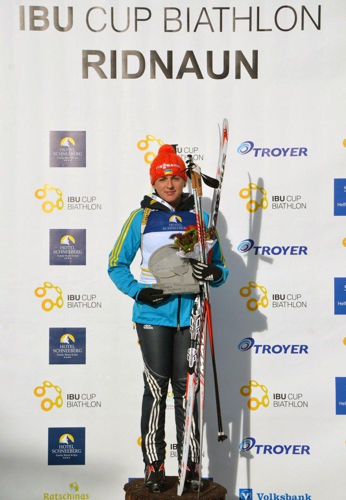 Биатлонистка из Чернигова Ирина Варвинец – победитель Кубка Европы (фото) - фото 1