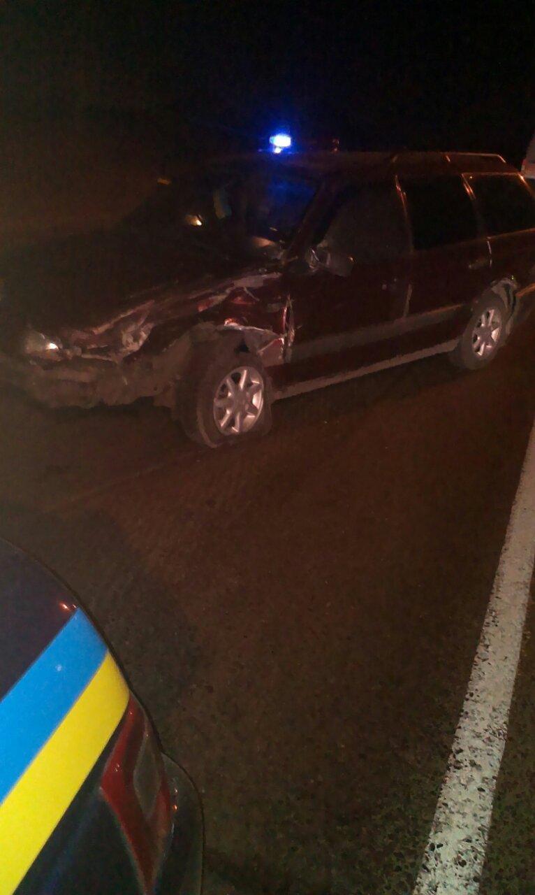 В Кременчуге пьяный водитель сбил патрульную машину, пока инспектор оформлял ДТП (ФОТО), фото-2