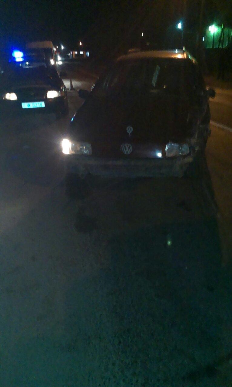 В Кременчуге пьяный водитель сбил патрульную машину, пока инспектор оформлял ДТП (ФОТО), фото-1