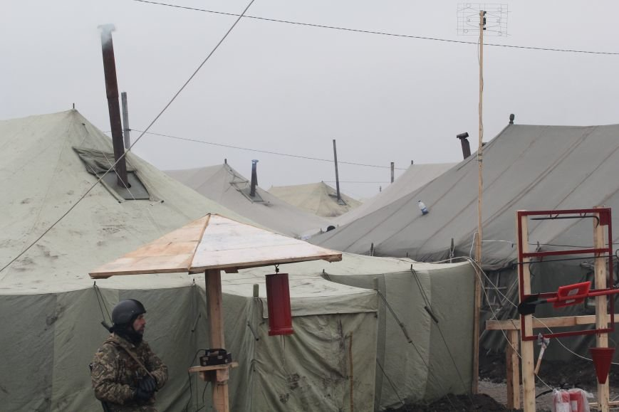 Специальный корреспондент 056.ua побывал в расположении боевой части в зоне АТО (ФОТО), фото-5
