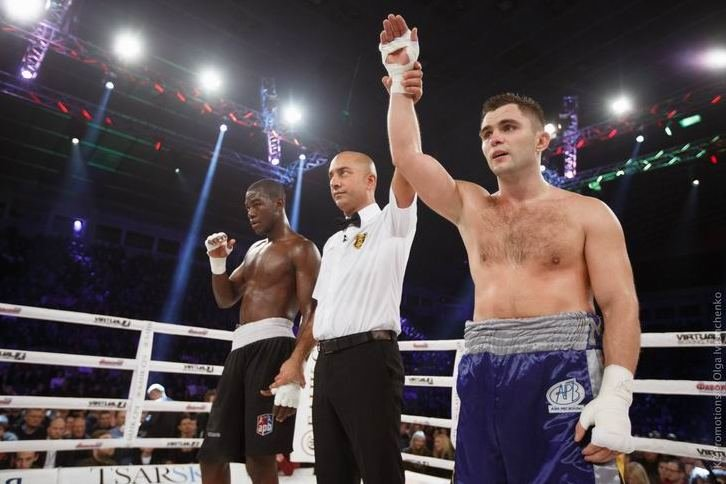 Боксер из Чернигова победил соперника из Эквадора на первом в Украине бое AIBA Pro Boxing (фото) - фото 1
