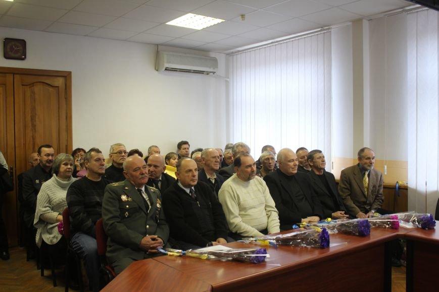 В Днепродзержинске чествовали ликвидаторов последствий аварии на ЧАЭС, фото-21