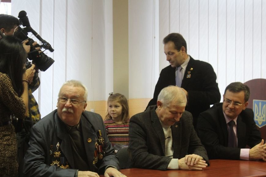 В Днепродзержинске чествовали ликвидаторов последствий аварии на ЧАЭС, фото-22