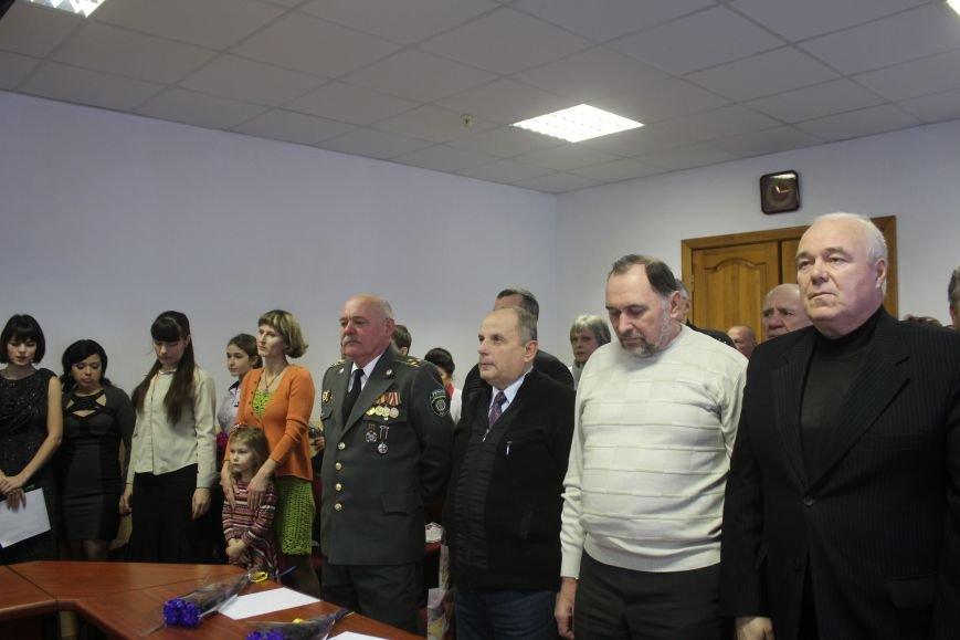 В Днепродзержинске чествовали ликвидаторов последствий аварии на ЧАЭС, фото-23