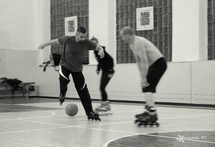 «Да вы ненормальные!..», или Как в Витебске играют в футбол на роликах (фото) - фото 2