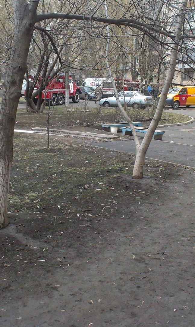 На бульваре Вечернем в Кривом Роге загорелась многоэтажка (ФОТО) (фото) - фото 1