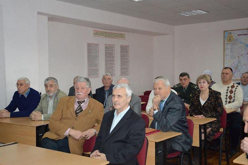 Днепропетровские спасатели поблагодарили ликвидаторов последствий Чернобыльской трагедии за их подвиг (ФОТО), фото-1